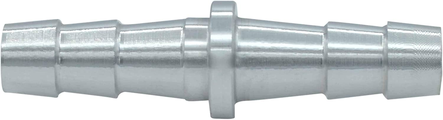 ICT Billet 3//16 Inch Hose Barb Splice Coupler Repair Fitting Adapter Connector Radiator Coolant Intercooler Heat Exchanger Fluid Fitting Designed /& Manufactured in USA Bare Aluminum AN627-03A