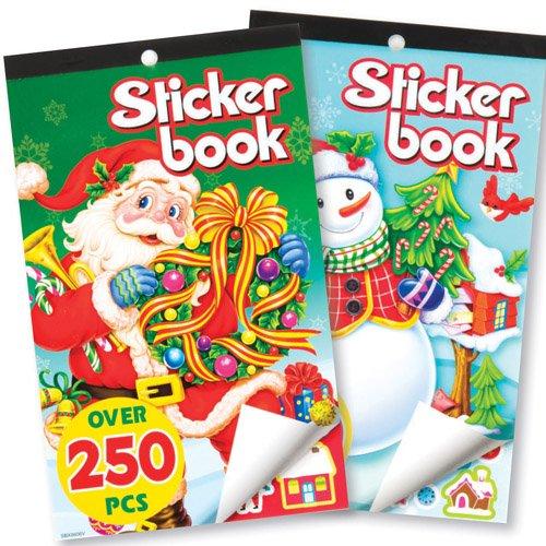 Baker Ross Pack Ahorro de Libros de Pegatinas Navideñas para Que los Niños Puedan Jugar y Pasar una Navidad Perfecta (Pack de 2).