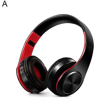 periwinkLuQ - Auriculares inalámbricos Bluetooth Plegables estéreo para teléfono y Tableta: Amazon.es: Electrónica
