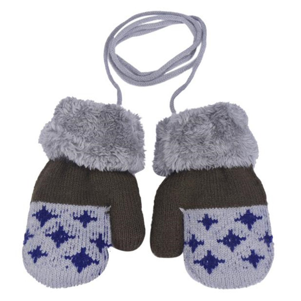 Fami Winter Lovely Baby Boy /& Girl garder au chaud Gants en tricot