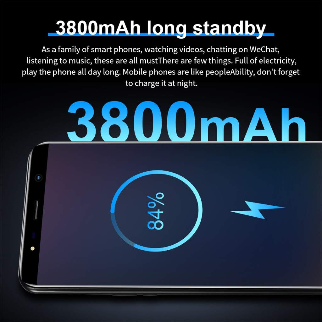 Android16GB Dual SIM Mobile Phone,Eight Cores 6.1 inch Dual HD Camera Smartphone,1G+16G+64G (Black) by SUNSEE ELECTRONICS (Image #5)
