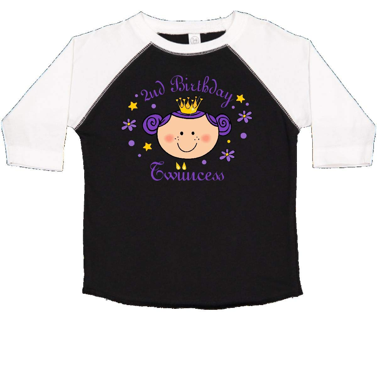 inktastic 2nd Birthday Twincess Toddler T-Shirt