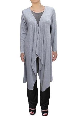 Ooh la la womens long cardigan drape front sweater at amazon ooh la la womens knit long lightweight drape front cardigan sweater jacket 410415s publicscrutiny Image collections
