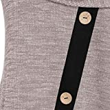 Shusuen Women Long Sleeve Hooded Asymmetric Hem