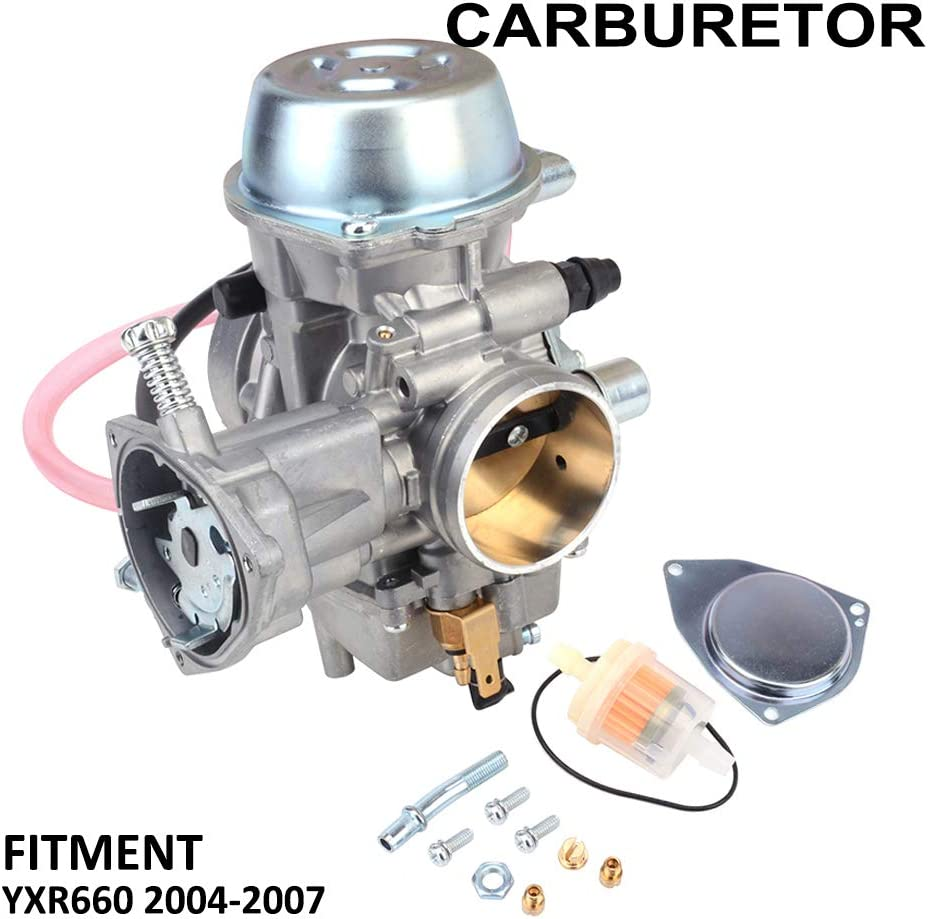 UTV YXR660 Carburetor Carb For 2004-2007 Yamaha Rhino 660 YXR660 UTV Carb