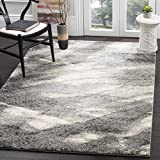 Safavieh Retro Collection RET2891-8012 Grey and Ivory Modern Abstract Area Rug (12′ x 18) Review