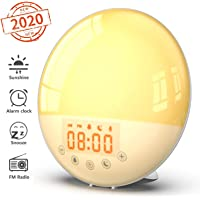 Wake Up Light Alarm Clock - Smart Sunrise