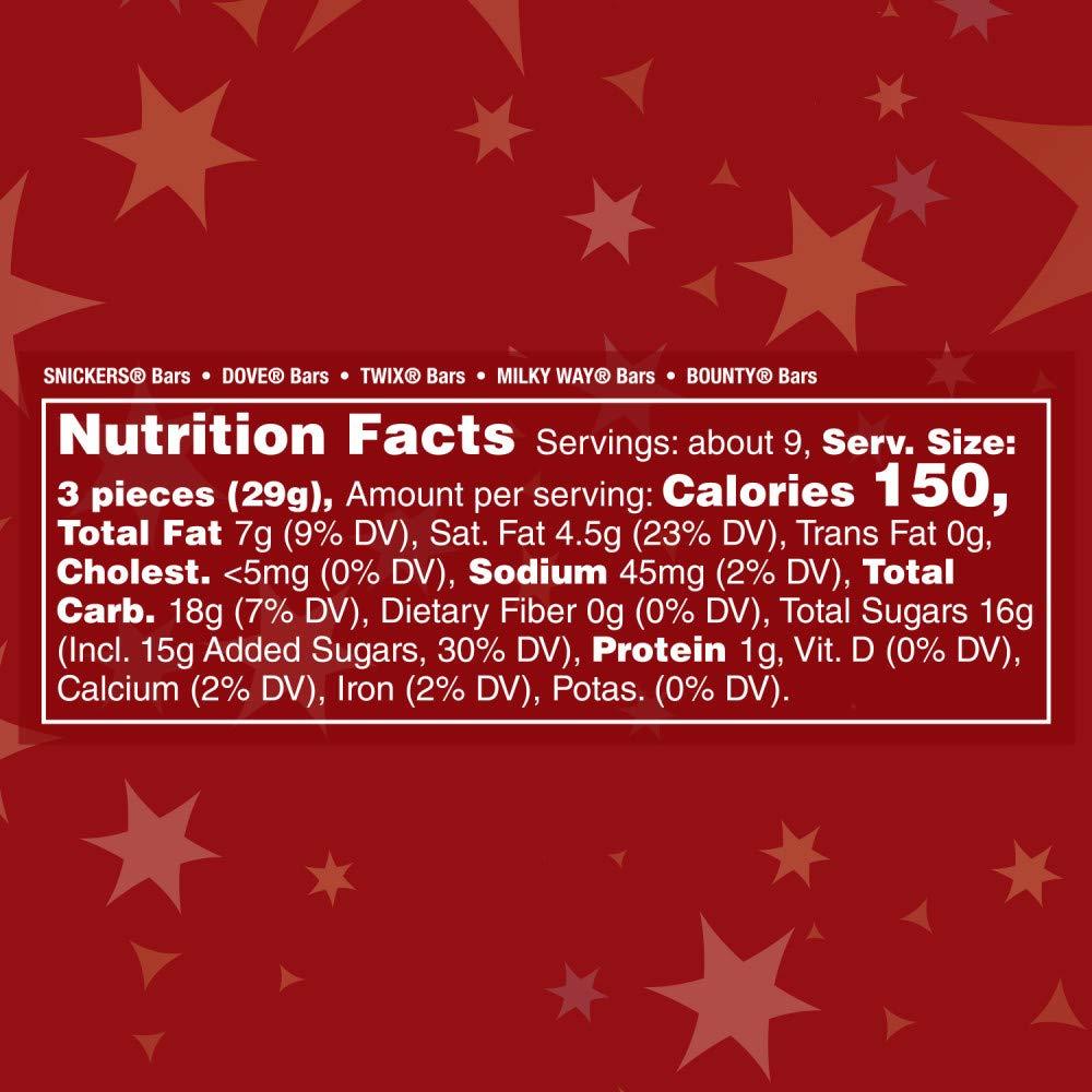 CELEBRATIONS Chocolate Variedad Mix Holiday Candy Bars, 9.5 ...