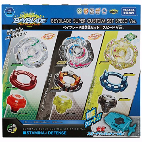 Beyblade burst B-65 super remodeling set speed Ver. by Beyblade