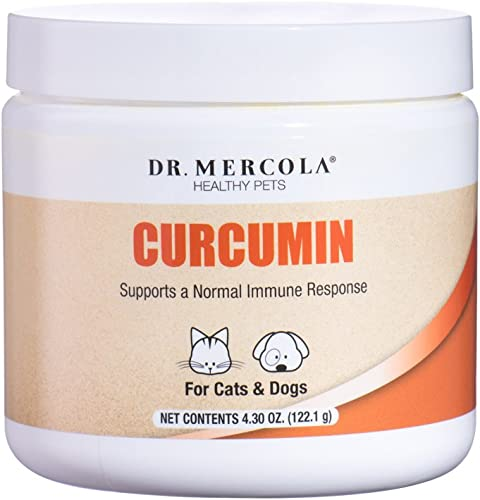 Dr. Mercola, Curcumin, for Cats and Dogs, 4.30 oz 122.1 g