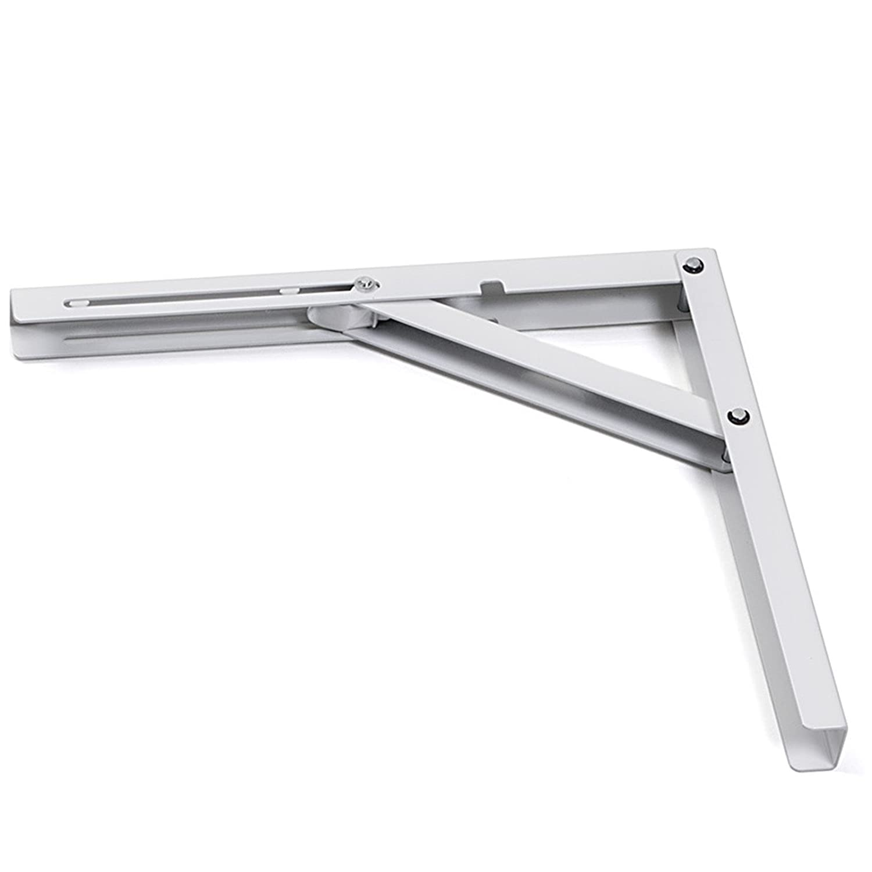 2 piezas SO-TECH/® M/énsula Abatible Consola PlegableProfi-Nr.1 L200 Largo 200 mm//Alto 160 mm//Negro Capacidad de carga 120 kg
