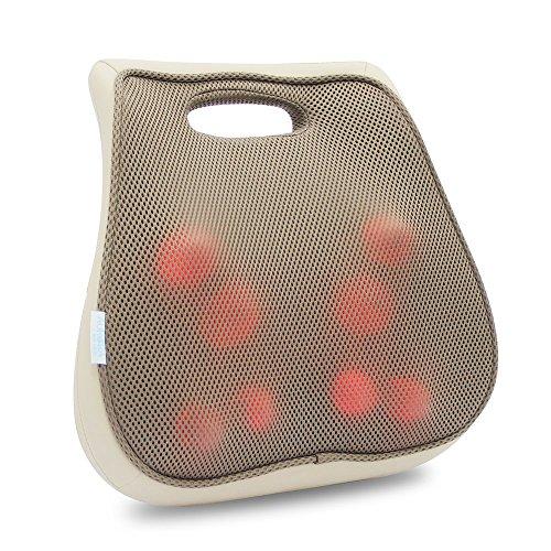 Aurora Health & Beauty 3D Lumbar Massager Cushion with Heat from Aurora Health & Beauty
