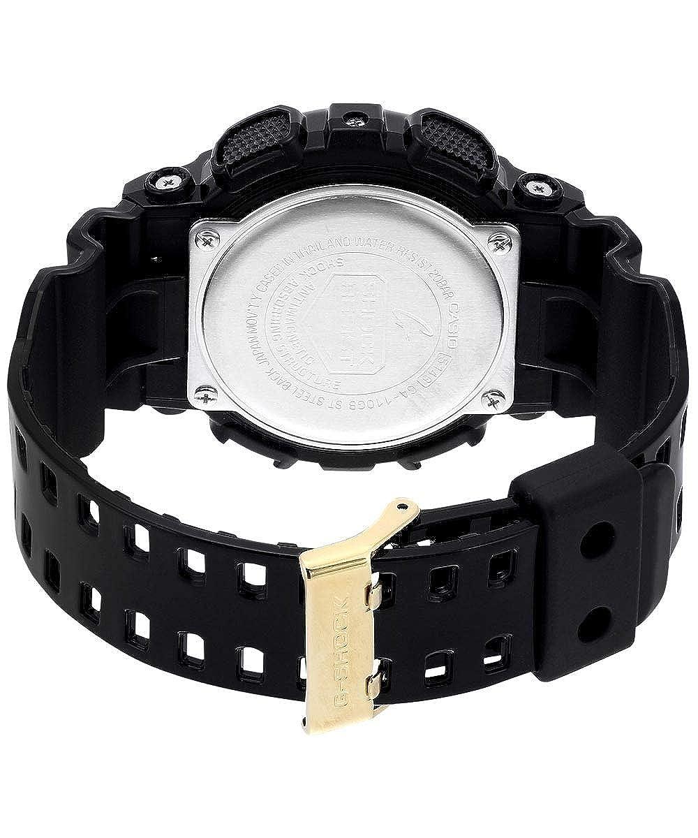 Casio Men s Analogue Digital Quartz Watch with Resin Strap GA-110GB-1AER