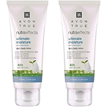 Avon True Nutra Effects Ultimate Moisture Daily Body Lotion ...