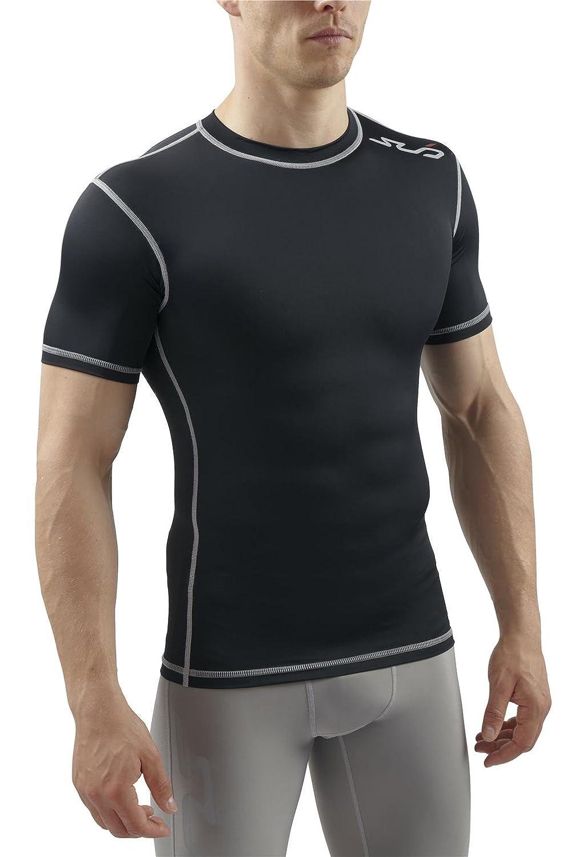 Sub Sports Mens Short Sleeve Compression Top T-Shirt Base Layer Vest