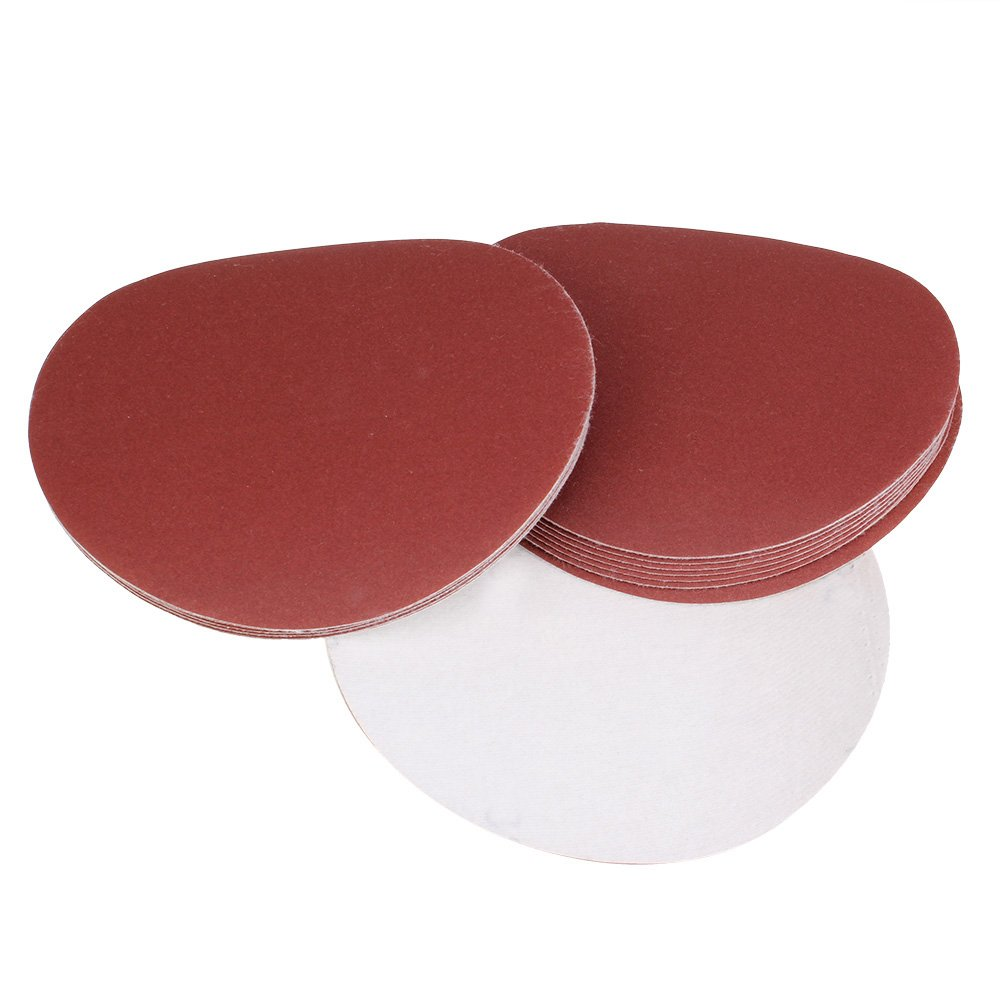 BQLZR 240Grit 240# 7-Inch Sanding Discs Hook Loop Sandpaper Sand Sheet Pack Of 20 N12337