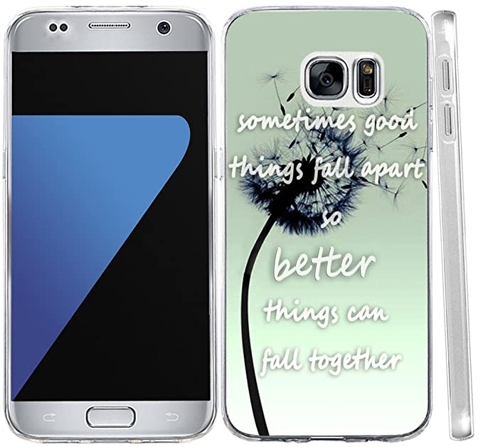 S6 Case Quotes About Life Cover For Samsung Galaxy S6 Case Inspirational Quotes About Life Love From Songs Sometimes Good Things Fall Apart So Better