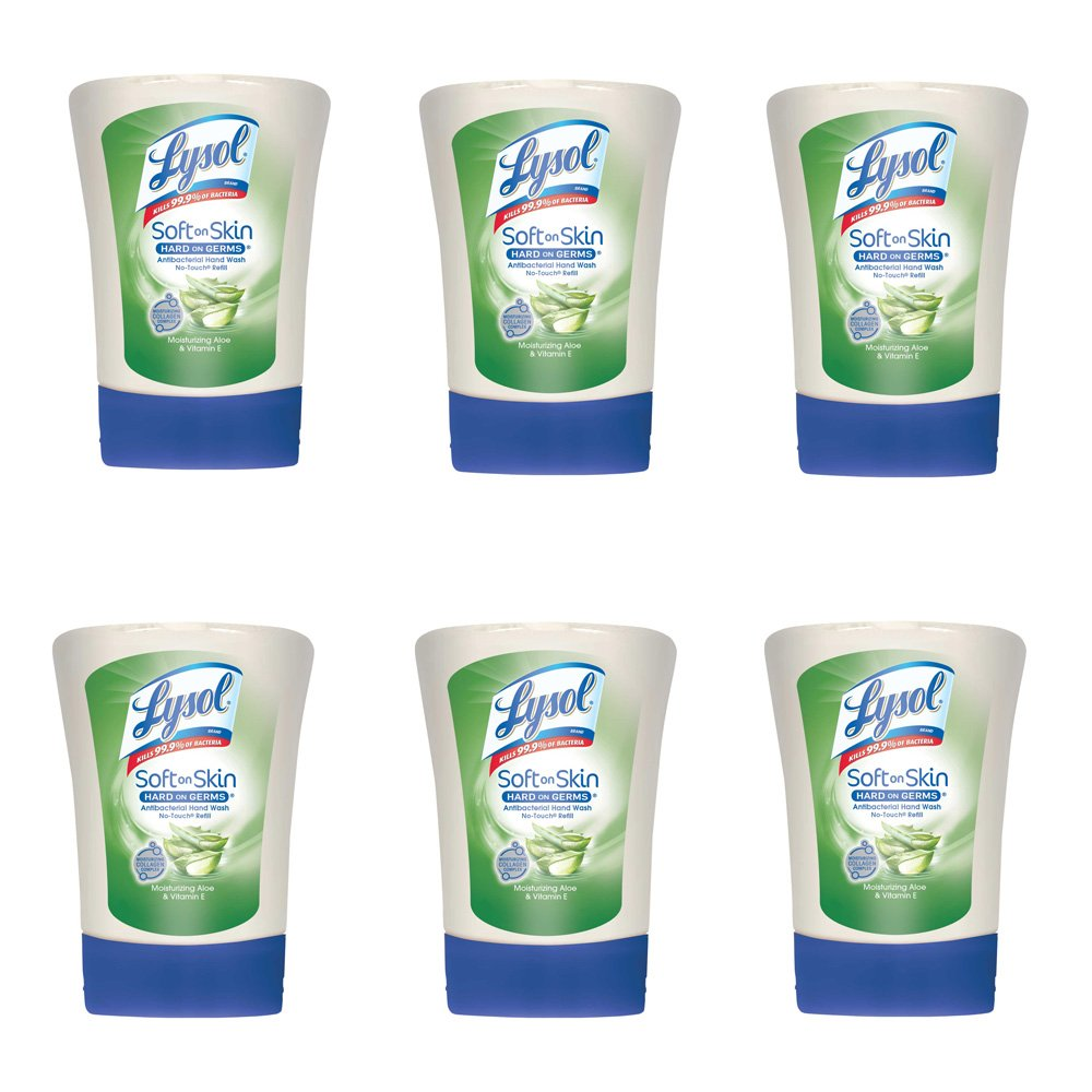 Amazon Com Lysol No Touch Hand Soap Refill 8 5 Fl Oz