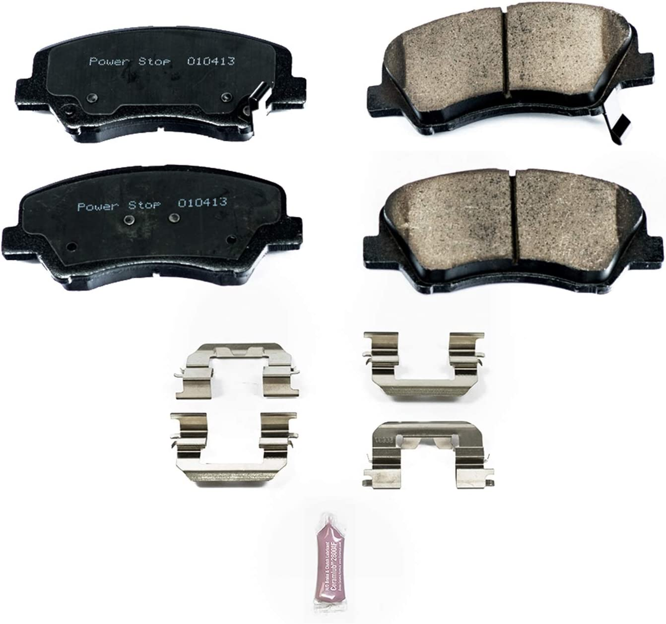 Bosch BE914H Blue Disc Brake Pad Set with Hardware