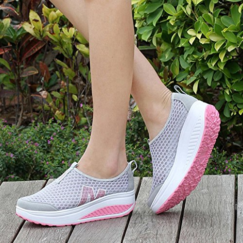 Tennis Mode Chaussure Wedges Basket Baskets femmes Gris Balenciaga Swing Respirant Beautyjourney Converse Mocassins Femme Air Femme Mesh xSCqxRn
