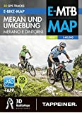 E-Bike-Karte Meran und Umgebung: Cartina E-bike Merano e Dintorni (E-Bike-Karten)