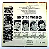 THE MONKEES (MONO Self Titled Debut) - Colgems Records 1966 - USED Vinyl LP Record - 1966 Reissue Pressing COM-101 - DAVY JONES - Last Train To Clarksville - I Wanna Be Free - Take A Giant Step