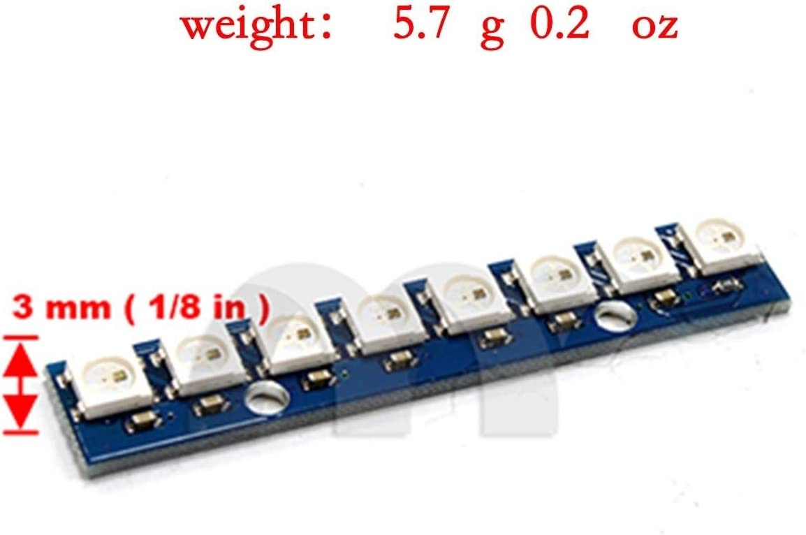 Eztronics Corp WS2812 5050 RGB LED Driver Module Board for Arduino