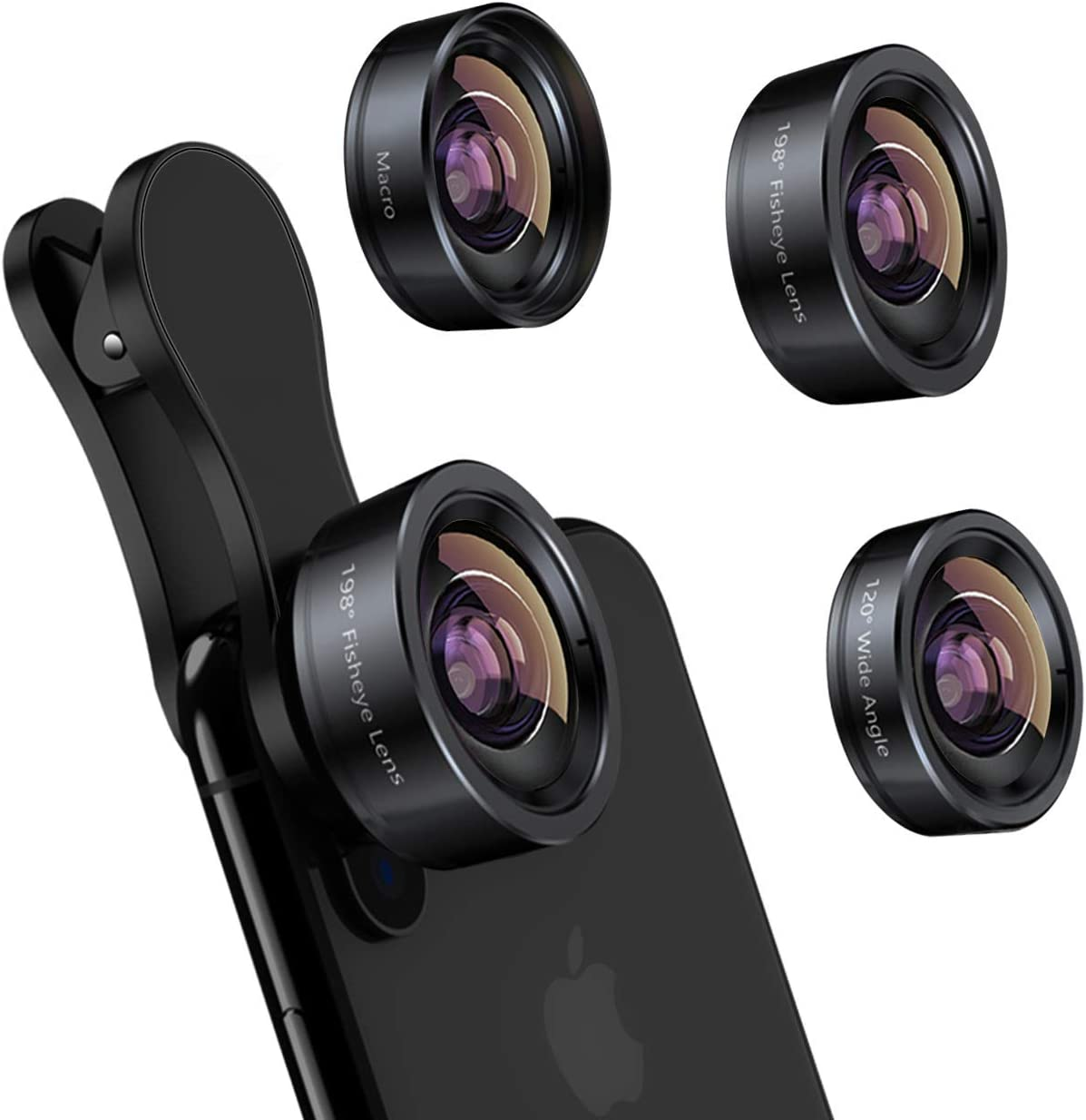 KEYWING iPhone Camera Lens 3 in 1