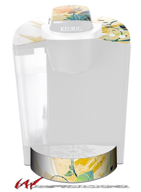水Butterflies – デカールスタイルビニールスキンFits Keurig k40 Eliteコーヒーメーカー( Keurig Not Included )   B017AK9QPW