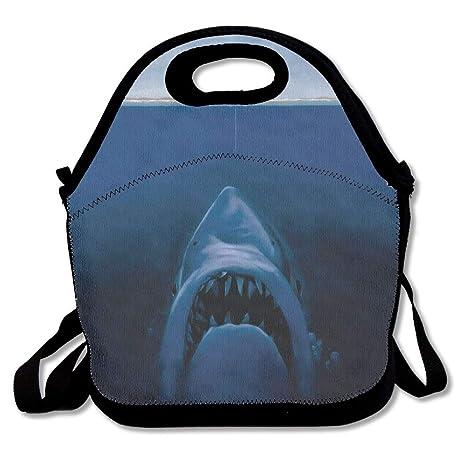 561f602fcbf9 Amazon.com: YCHY Fishermen Is Fishing The Shark Lunch Bag Insulated ...