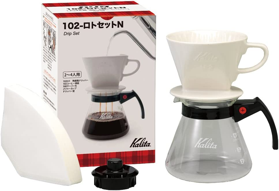 Kalita drip set 102 - Lotto set N # 35163 by Kalita (Carita)
