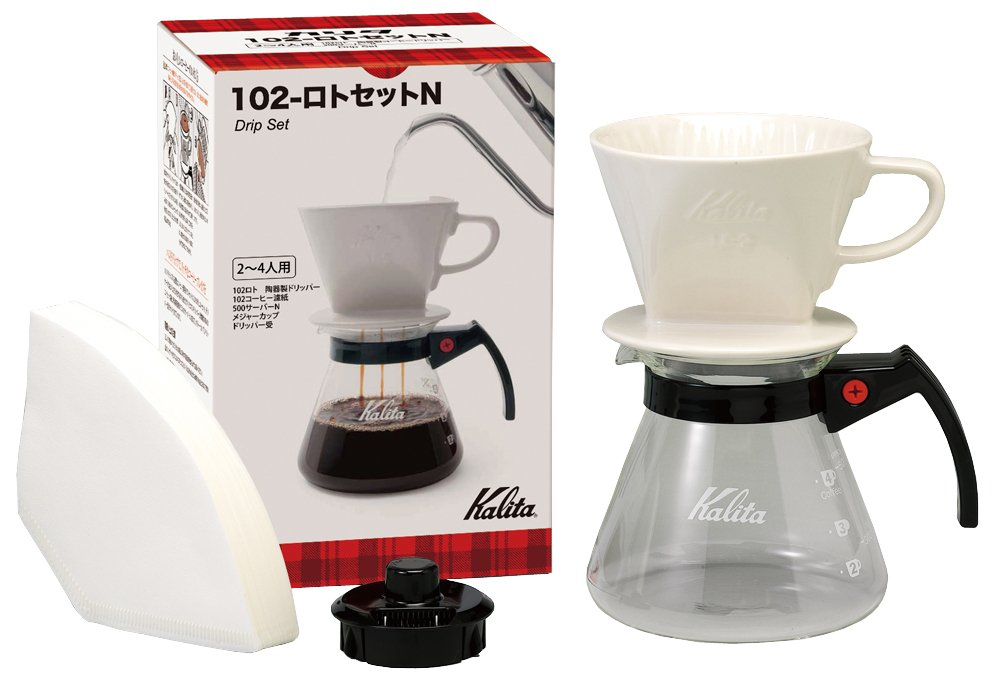 Kalita drip set 102 - Lotto set N # 35163 by Kalita (Carita) #35163