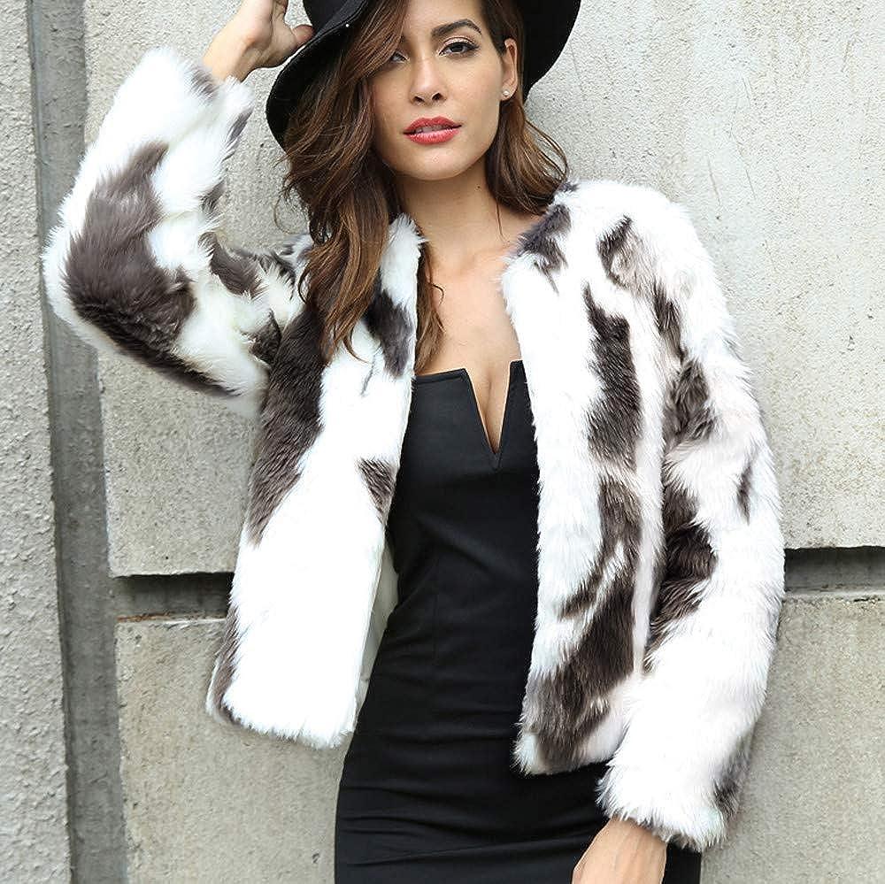 Plus Size Long Winter Coats for Women,Womens Pure Color Long Autumn Winter Long Sleeve Coat Fashion Plush Coat