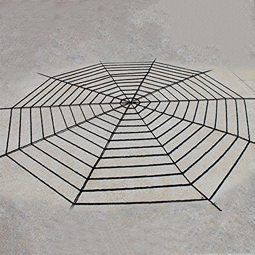 Pcongreat New Halloween Makeup Props Special Festival Offers Spider Web Net Netting Spooky Halloween Party Home Bar Decoration Prop Spiderweb White 1.5M