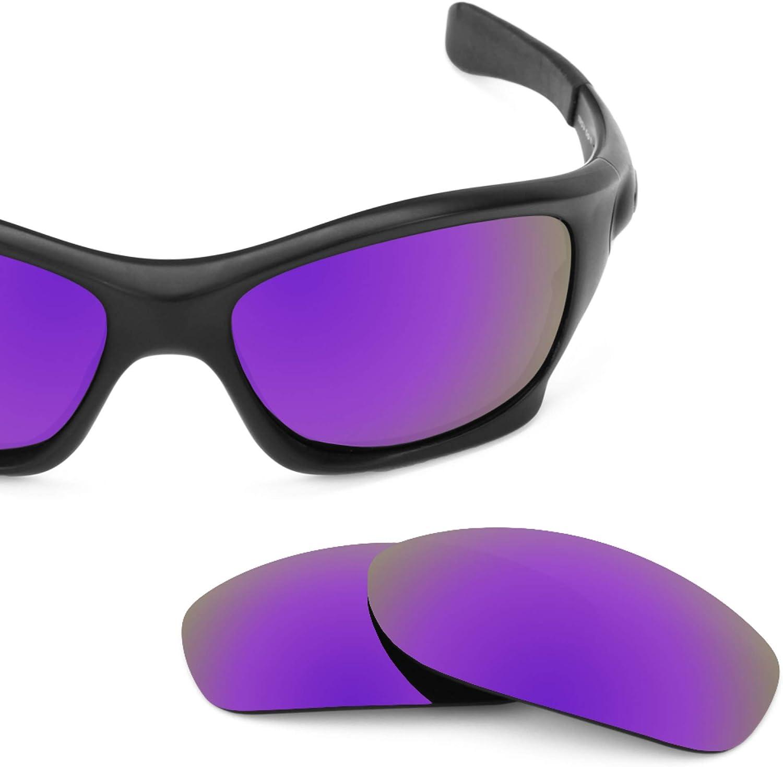 Revant Verres de Rechange pour Oakley Pit Bull (Coupe Asiatique) Violet Plasma Mirrorshield - Polarisés