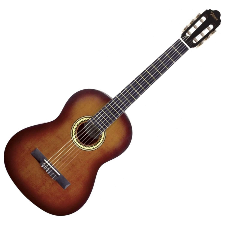 Valencia Series 200 Guitar, 4/4 Classical, Sunburst Finish