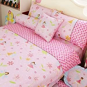 Lelva rosa ni a juego de ropa de cama de la princesa ropa - Cama princesa nina ...