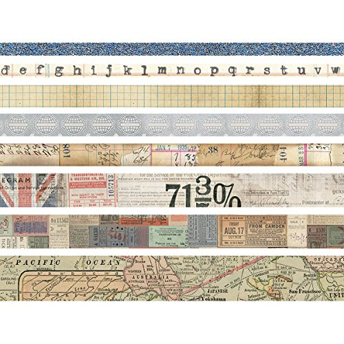 Tim Holtz Idea-Ology Design Tape TH Ideaology DTape Journey