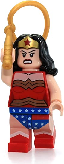 Lego Minifigure Wonder Woman 1941 First Appearance Complete Set with Stand /& Acc