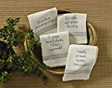 Park Designs I Need Vacation Embroidered Cotton Dish Towel Cleaning Dust Cloths Kitchen Linens