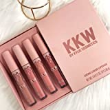 Kylie Cosmetics KKW Creme Liquid Lipstick Set (Kim Kardashian Kylie Jenner)