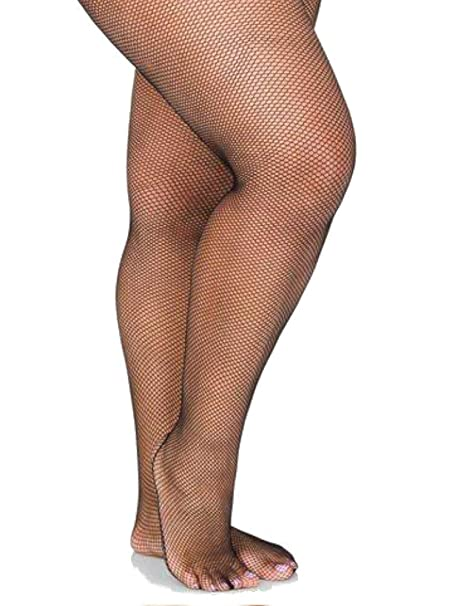 cc9c6a148d3f5 LIDA Plus Size Fishnet Suspender Tights: Amazon.ca: Clothing ...