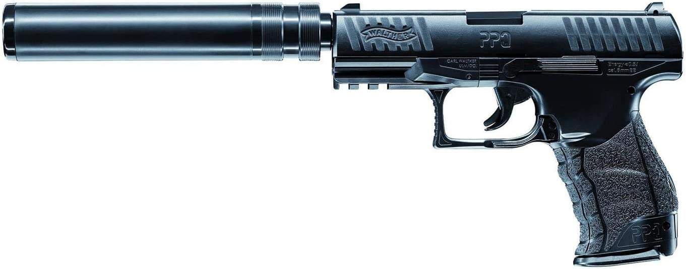Walther Softair - Pistola de Aire comprimido Pistola Airsoft PPQ Navy Kit de 0,5 Julios, Negro, Talla única