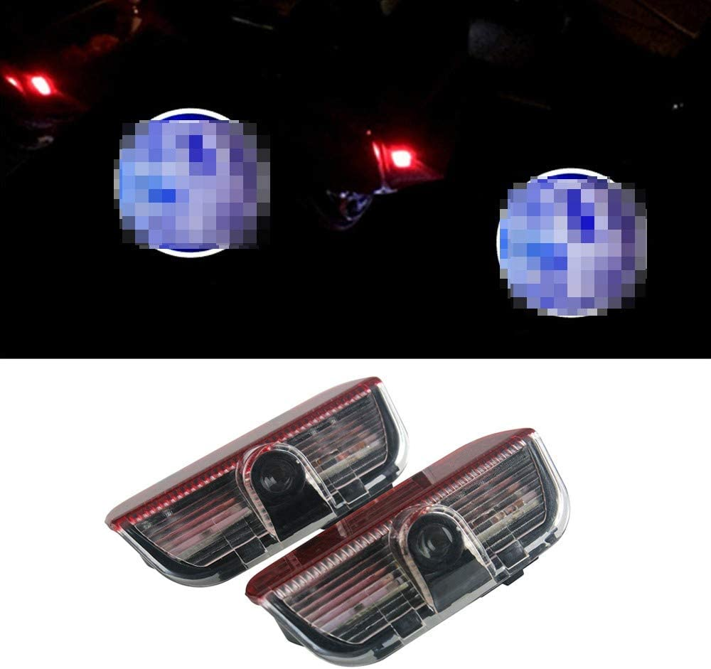 YGXNONO Autot/ür Led Projektor Logo Licht Smart Infrared Sensor Willkommen Ghost Shadow Light 2 St/ücke