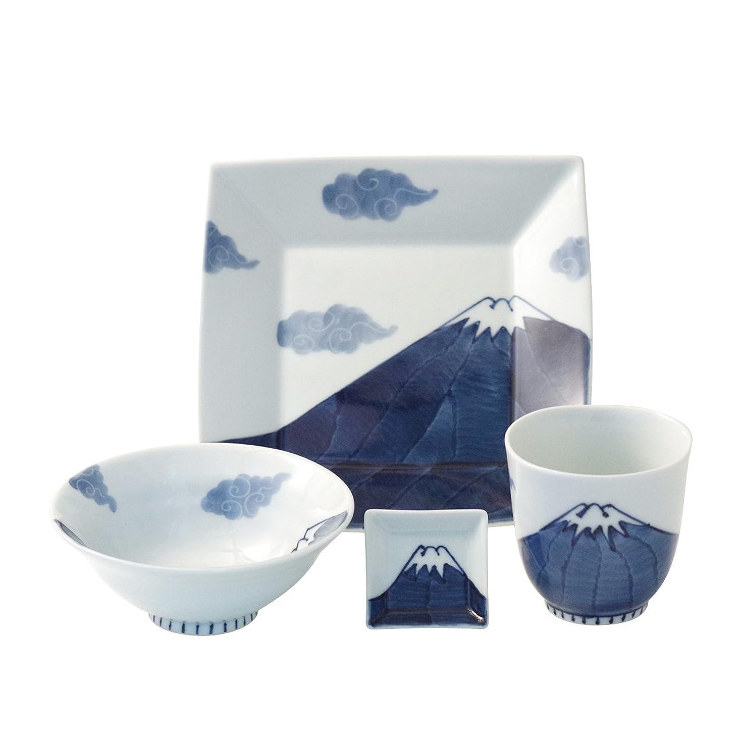 例示する請求可能特異な夫婦茶碗?夫婦湯のみ ギフトセット 花ちらし 美濃焼 3y483-17