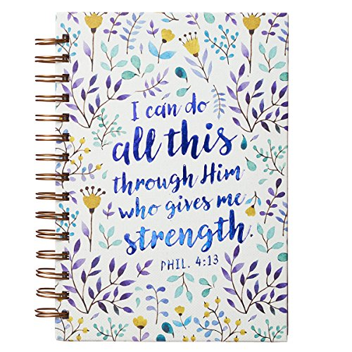 Journal: I Can Do All This Through Him, - Can Journal I