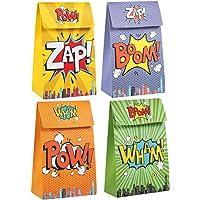 pakket van 20 superheld feestdoosjes voor snoepgeschenken