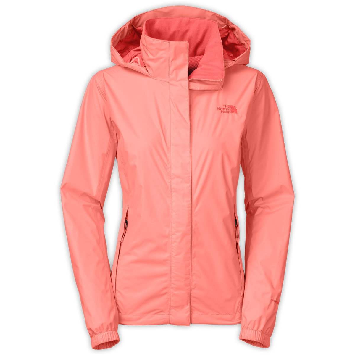 The North Face Women's Resolve Jacket Neon Peach (Large)