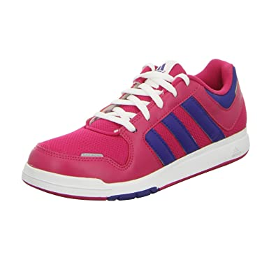 Trainer 6 Basses Lacets K Lk Adidas Sportif Fille B40117 Chaussures vwNnm80