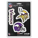 Kyпить NFL Minnesota Vikings Team Decal, 3-Pack на Amazon.com